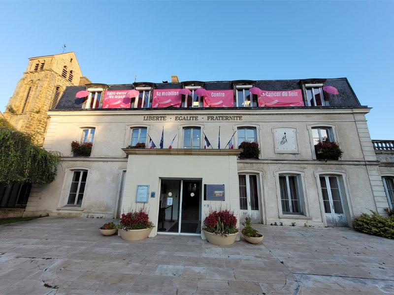 mairie-rose